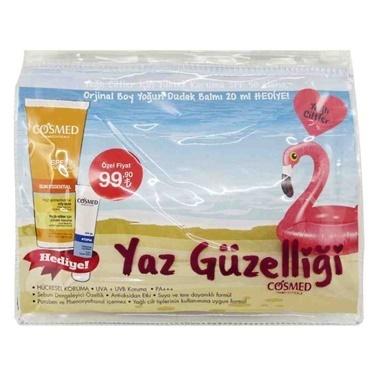 Cosmed Sun Essential SPF50 Oily Skin Cream 50ml Set Renksiz